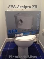 SFA- Sanipro XR wc broyeur.