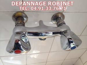 Plomberie robinet douche