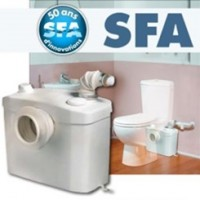 Un réparateur wc SFA broyeur.